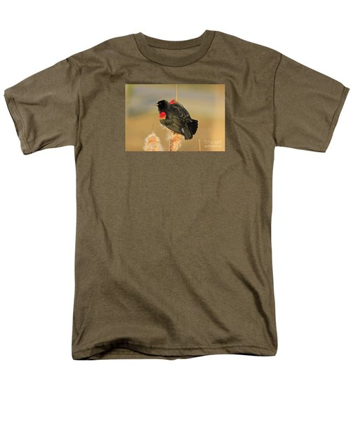 Men's T-Shirt  (Regular Fit) featuring the photograph Wings In A Golden Light 2 by Chris Anderson