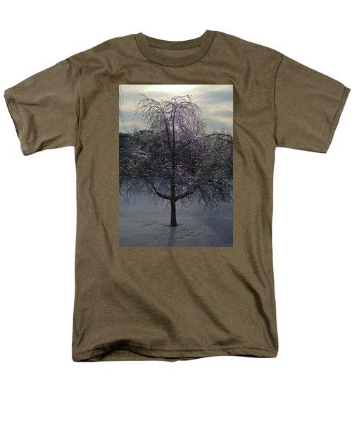 Winter Candelabrum Men's T-Shirt  (Regular Fit) by Henryk Gorecki
