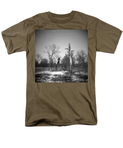 Winter Forest Series 4 Men's T-Shirt  (Regular Fit) by Verana Stark