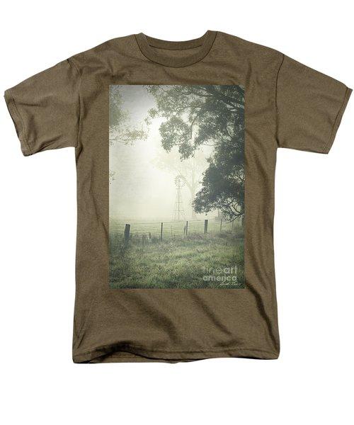 Winter Morning Londrigan 9 Men's T-Shirt  (Regular Fit) by Linda Lees