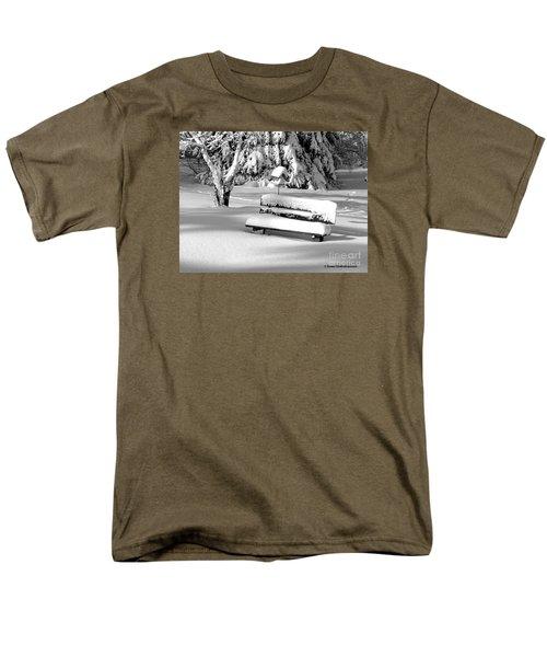 Winter Morning Men's T-Shirt  (Regular Fit) by Susan  Dimitrakopoulos