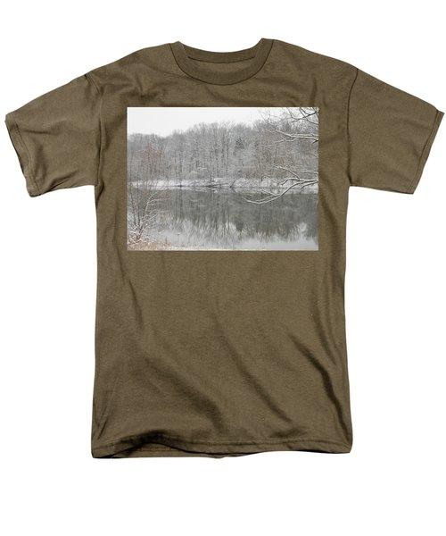Winter Reflections 2 Men's T-Shirt  (Regular Fit) by Mark Minier