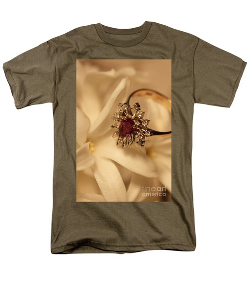 Men's T-Shirt  (Regular Fit) featuring the photograph With Love by Joy Watson