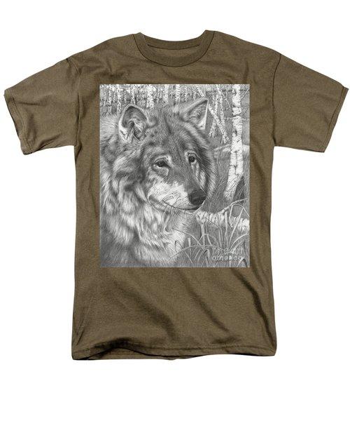 Wolf Gaze Men's T-Shirt  (Regular Fit)