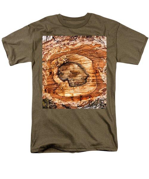 Wood Detail Men's T-Shirt  (Regular Fit)