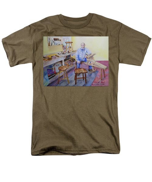 Woodworker Chair Maker Men's T-Shirt  (Regular Fit)