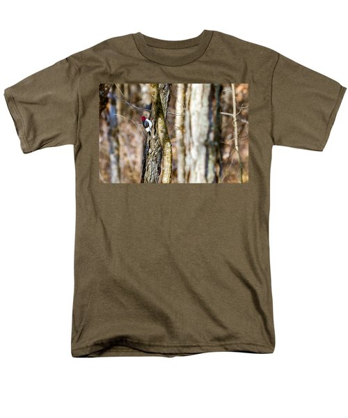 Men's T-Shirt  (Regular Fit) featuring the photograph Woody by Sennie Pierson