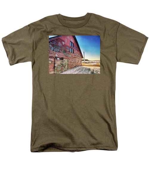 Writing On The Wall Men's T-Shirt  (Regular Fit) by Luke Collins