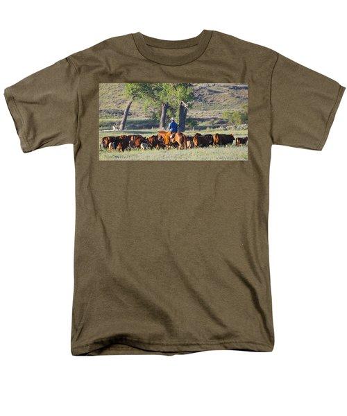 Wyoming Country Men's T-Shirt  (Regular Fit) by Diane Bohna