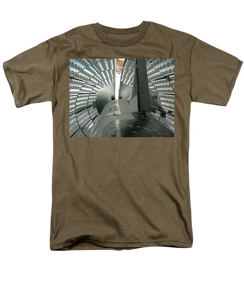 Men's T-Shirt  (Regular Fit) featuring the photograph X-37b Orbital Test Vehicle by Science Source
