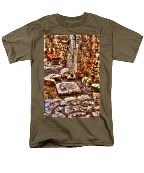 Men's T-Shirt  (Regular Fit) featuring the photograph Stones That Don't Lie - Israel by Doc Braham