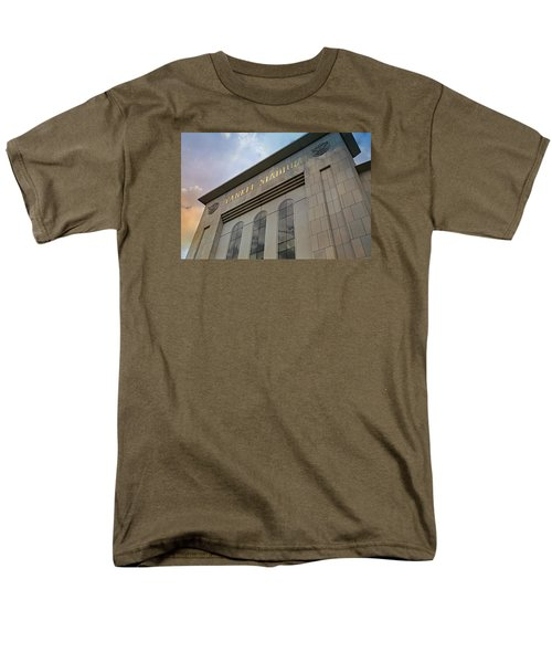 Yankee Stadium Men's T-Shirt  (Regular Fit) by Stephen Stookey