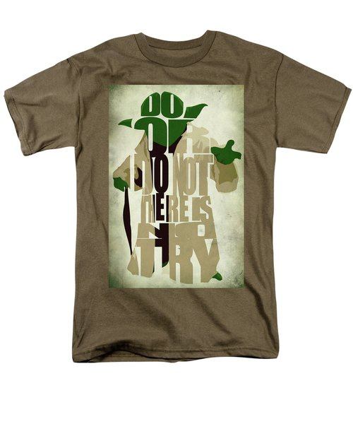 Yoda - Star Wars Men's T-Shirt  (Regular Fit) by Ayse Deniz
