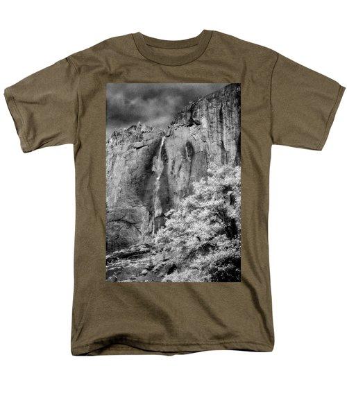 Men's T-Shirt  (Regular Fit) featuring the photograph Yosemite Falls by Mark Greenberg