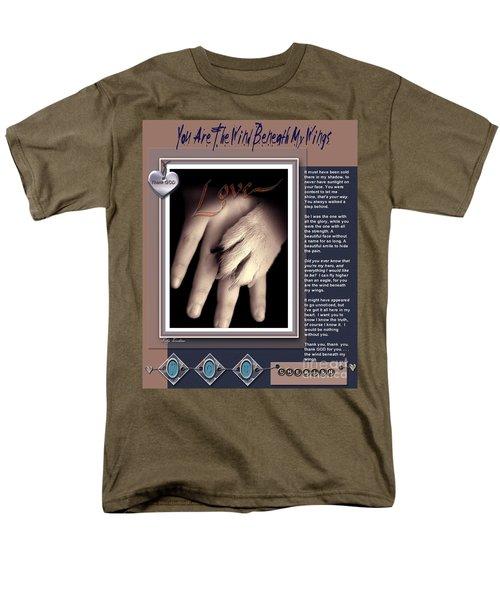 You Are My Hero Men's T-Shirt  (Regular Fit)