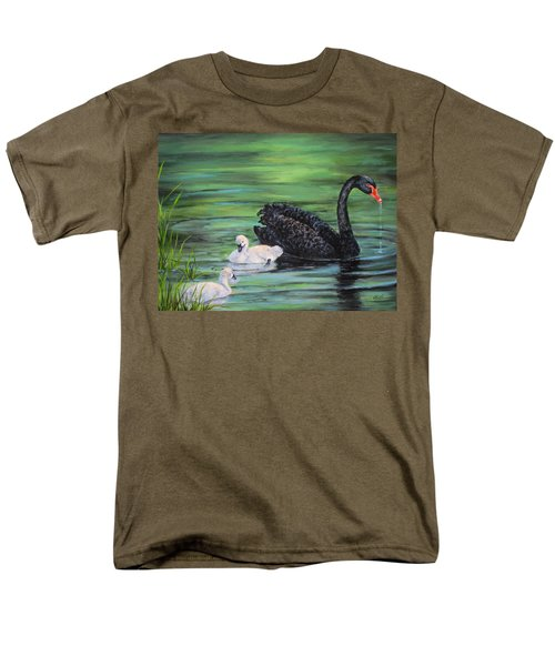 You Comin'--black Swan Men's T-Shirt  (Regular Fit)