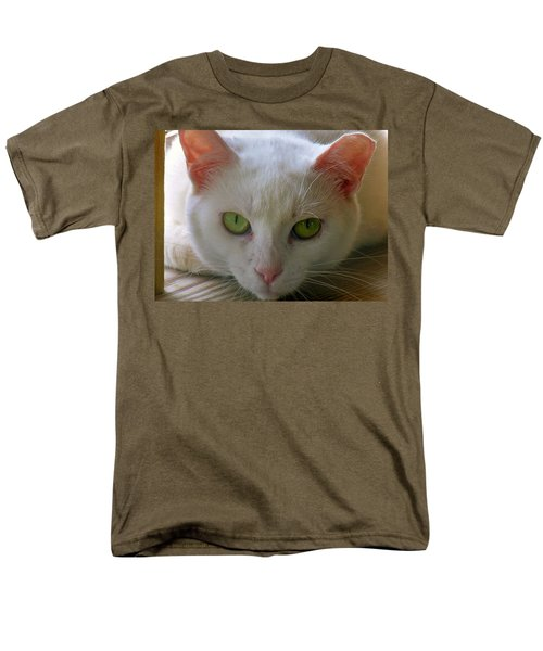 Men's T-Shirt  (Regular Fit) featuring the photograph You Lookin At Me by Sherman Perry