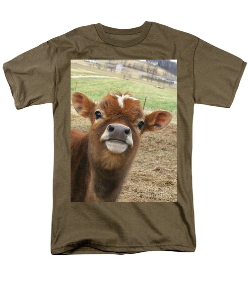 Men's T-Shirt  (Regular Fit) featuring the photograph You Looking At Me by Sara  Raber