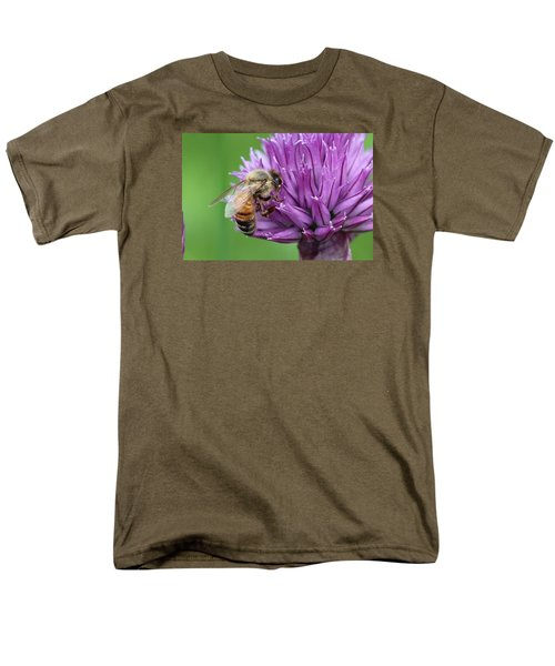 Yummm Chive Nectar Men's T-Shirt  (Regular Fit) by Lucinda VanVleck