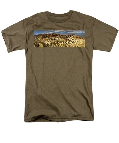 Zabriskie Point Panorama Men's T-Shirt  (Regular Fit) by Eduard Moldoveanu