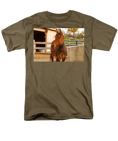 Zorse Men's T-Shirt  (Regular Fit) by Mary Carol Story