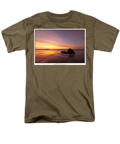 Men's T-Shirt  (Regular Fit) featuring the photograph  Atomic Sunset by Beverly Cash