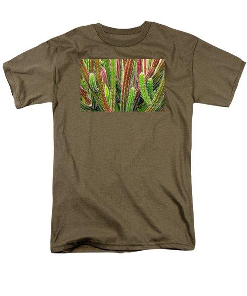 Cactus Men's T-Shirt  (Regular Fit) by Ranjini Kandasamy