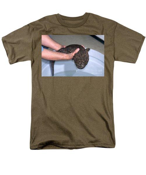 Chinese Giant Salamander Men's T-Shirt  (Regular Fit) by Dante Fenolio