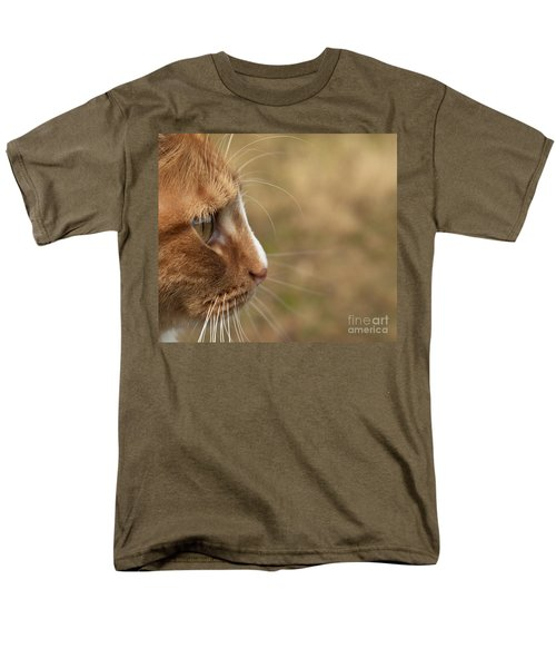 Men's T-Shirt  (Regular Fit) featuring the photograph Flitwick The Cat by Jeannette Hunt