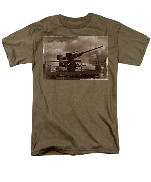 Men's T-Shirt  (Regular Fit) featuring the photograph Hmas Castlemaine 5 by Blair Stuart