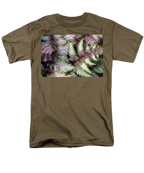 Men's T-Shirt  (Regular Fit) featuring the photograph Japanese Painted Fern by Chris Anderson