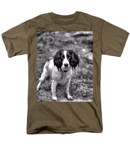 Springer Spaniel Men's T-Shirt  (Regular Fit) by Marlo Horne