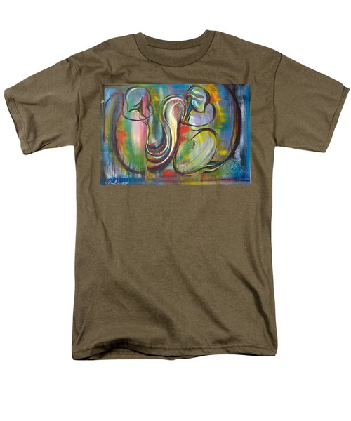 2 Snails And 3 Elephants Men's T-Shirt  (Regular Fit) by Sheridan Furrer