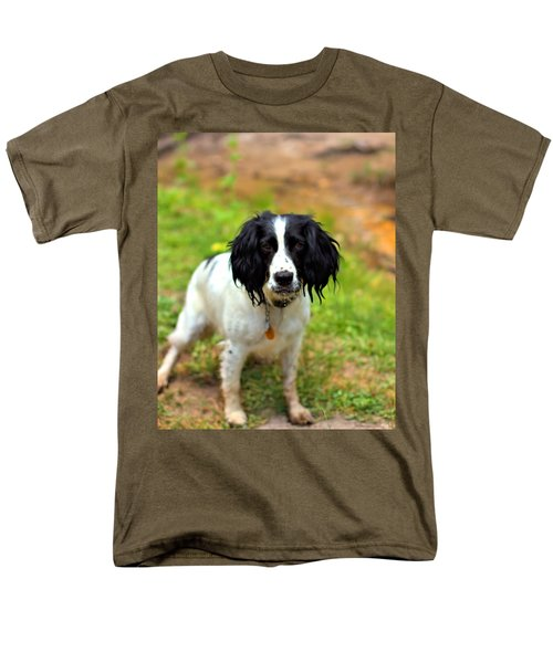 Spaniel Men's T-Shirt  (Regular Fit) by Marlo Horne