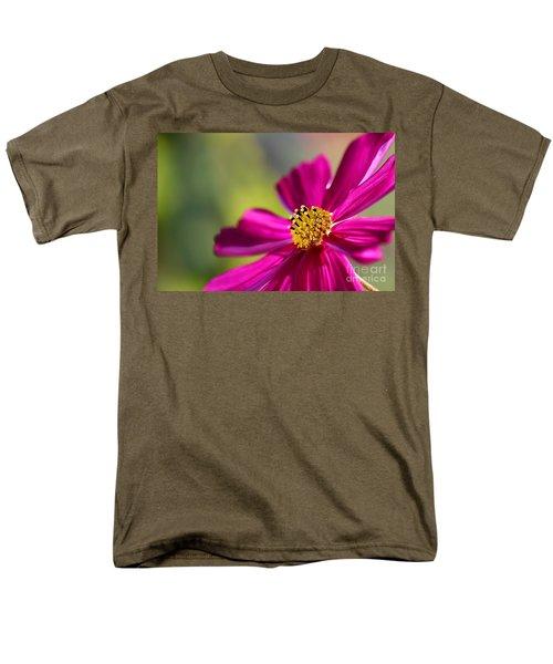 Men's T-Shirt  (Regular Fit) featuring the photograph Yellow Dots by Henrik Lehnerer