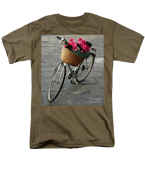 Men's T-Shirt  (Regular Fit) featuring the photograph A Flower Delivery by Vivian Christopher