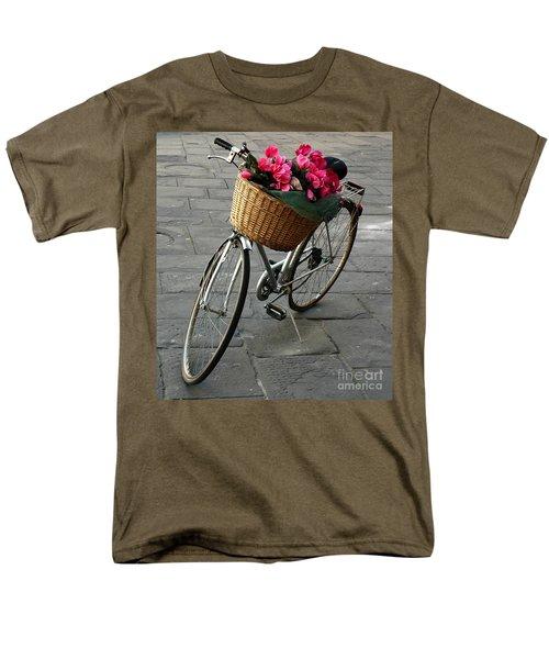 A Flower Delivery Men's T-Shirt  (Regular Fit) by Vivian Christopher