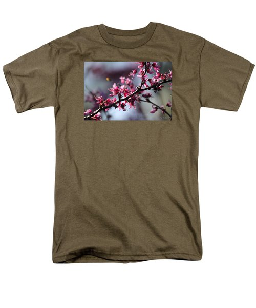 A Hint Of Spring  Men's T-Shirt  (Regular Fit) by Amy Gallagher