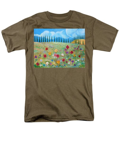A Peaceful Place Men's T-Shirt  (Regular Fit) by John Keaton