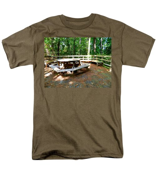 Men's T-Shirt  (Regular Fit) featuring the photograph A Place For Gathering by Ester  Rogers