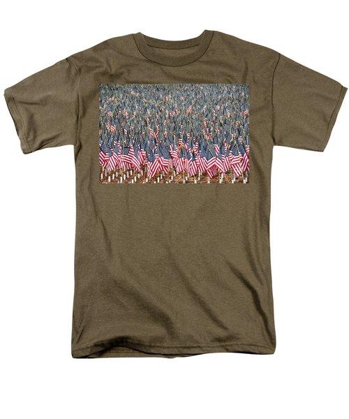 A Thousand Flags Men's T-Shirt  (Regular Fit) by John Black