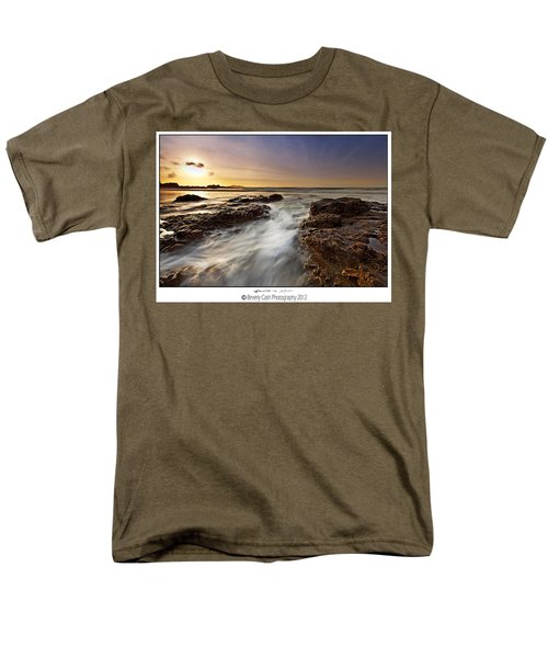 Men's T-Shirt  (Regular Fit) featuring the photograph Afternoon Tide by Beverly Cash