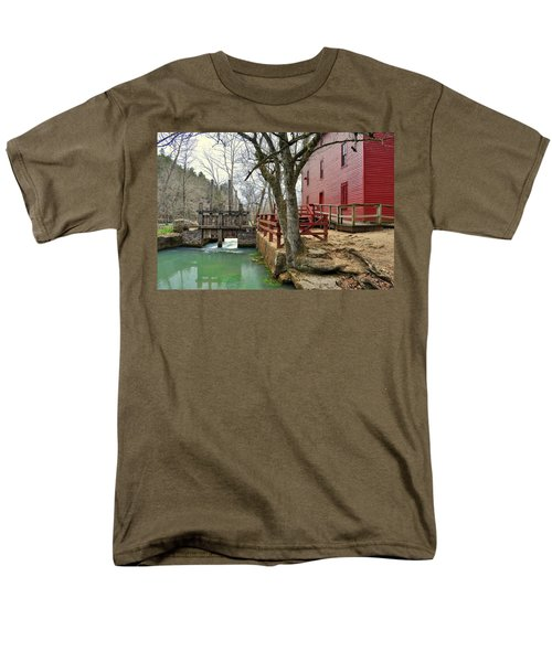 Men's T-Shirt  (Regular Fit) featuring the photograph Alley Spring Mill 34 by Marty Koch