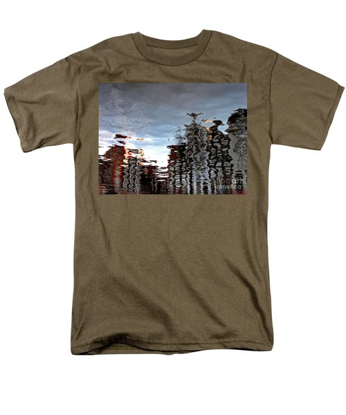 Men's T-Shirt  (Regular Fit) featuring the photograph Amsterdam Reflections by Andy Prendy