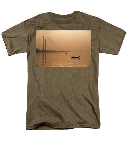 An Industrial Sunset Men's T-Shirt  (Regular Fit) by Fotosas Photography
