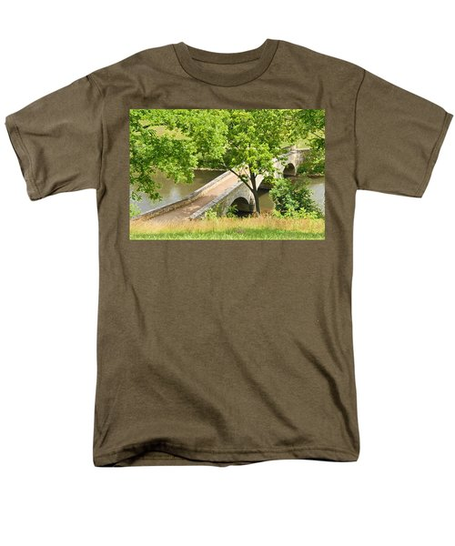 Antietam's Burnside Bridge Men's T-Shirt  (Regular Fit) by Cindy Manero