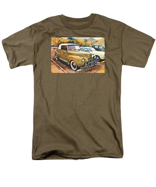 Men's T-Shirt  (Regular Fit) featuring the digital art Antique Car  by Mary Almond