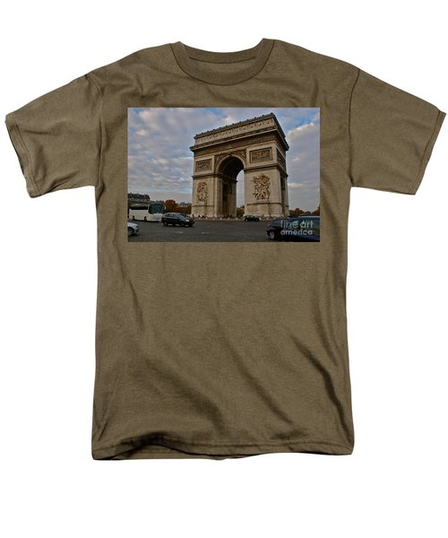 Men's T-Shirt  (Regular Fit) featuring the photograph Arc De Triomphe by Eric Tressler