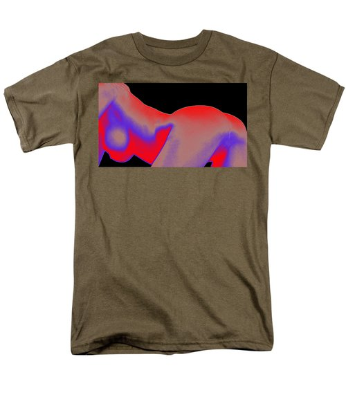 Men's T-Shirt  (Regular Fit) featuring the painting Assology 6 by Tbone Oliver