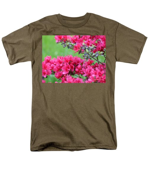 Azalea Men's T-Shirt  (Regular Fit) by Andrea Anderegg